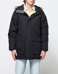 Woolrich White Collection Patrol Down Parka Black