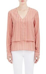 Barneys New York Dustin Layered Top Nude Size 0 Us
