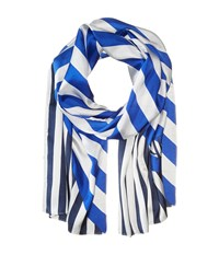 Lauren Ralph Lauren Vanessa Scarf Beach Royal Scarves Blue