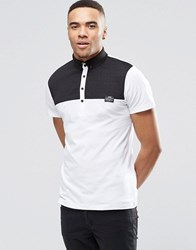 Jack And Jones Jack And Jones Polo With Contrast Collar White