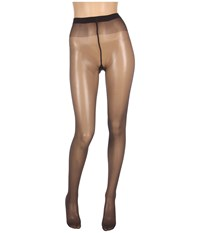 Wolford Satin Touch 20 Tights Nearly Black Hose