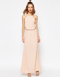 Sams0e And Sams0e Samsoe And Samsoe Willow Maxi Dress With Lace Inserts Cameo Rose
