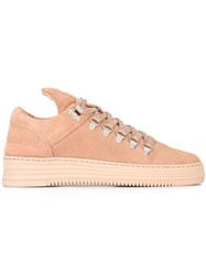 Filling Pieces 'Mountain Cut' Sneakers Pink And Purple
