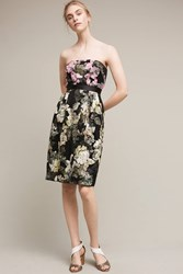 Anthropologie Strapless Gala Dress Black