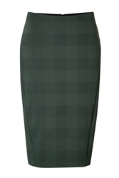 Rag And Bone Plaid Pencil Skirt
