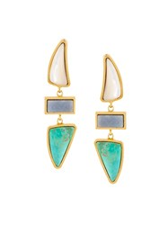 Lizzie Fortunato Jewels 'Santa Fe' Earrings Metallic