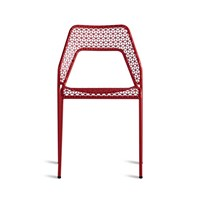 Heal's Hot Mesh Chair Red