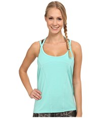 Zobha Emery Strappy Halter Cami Seaglass Women's Workout Green