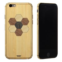 Toast Real Wood Iphone 6 Inlay Cover Bamboo