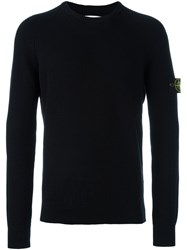Stone Island Knit Jumper Black