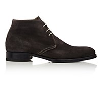 Harris Men's Square Toe Chukka Boots Dark Grey Grey Dark Grey Grey