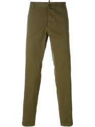 Dsquared2 Chino Trousers Green