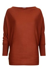 Wal G Cowl Knit Top With Zip By Rust