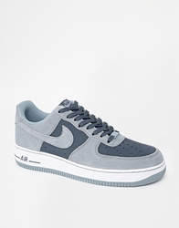Nike Air Force 1 Trainers Grey
