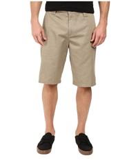 O'neill Contact Shorts Khaki Heather Men's Shorts Brown