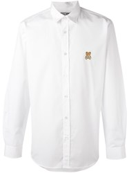 Moschino Toy Embroidered Shirt White