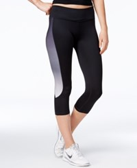 Ideology Ombre Capri Leggings Only At Macy's Deep Charcoal