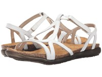Naot Footwear Dorith White Leather Women's Sandals