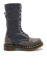 Dr. Martens Hazil Slouch Boots Gray