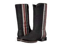 Ariat Full Throttle Wide Square Toe Dull Black Cowboy Boots