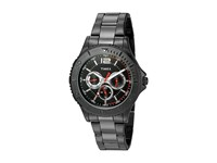 Timex Taft Street Multifunction Stainless Steel Bracelet Black Watches