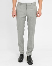 Ikks Grey Jack Slim Fit Suit Trousers