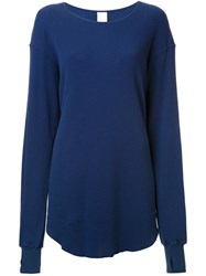 Cityshop Organic Thermal T Shirt Blue