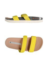 Adidas By Stella Mccartney Adidas By Stella Mccartney Footwear Sandals Women Yellow
