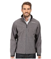 Ariat Vernon Softshell Jacket Charcoal Heather Men's Jacket Gray
