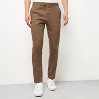 River Island Mens Camel Skinny Trousers
