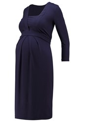 Isabella Oliver Roseberry Jersey Dress Darkest Navy Dark Blue