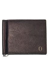 Men's Cathy's Concepts Personalized Leather Wallet And Money Clip Brown Brown O