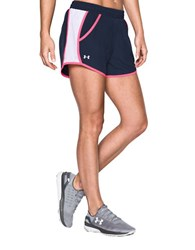 Under Armour Fly By Lightweight Shorts Midnight Navy