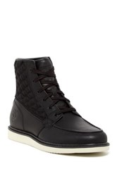 Timberland Newmarket Moc Quilted Boot Black