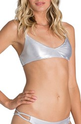 Women's Billabong 'Metallic Beach' Bikini Top