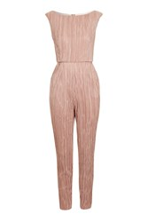 Love Wide Neck Pleated Jumpsuit By Rose