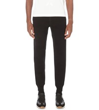 Tom Ford Tapered Cotton Jersey Jogging Bottoms Black