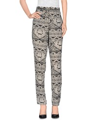 Only Trousers Casual Trousers Women Ivory