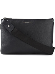 Ermenegildo Zegna Zipped Shoulder Bag