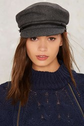 Easy Soldier Wool Hat Gray