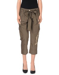 Red Valentino Redvalentino Trousers 3 4 Length Trousers Women Military Green