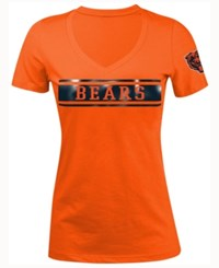 5Th And Ocean Women's Chicago Bears Touchback Le T Shirt Orange