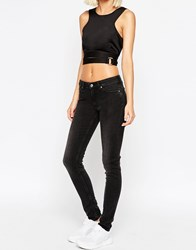 Weekday Saturday Low Rise Skinny Jean Ashgrey