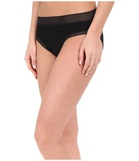 Exofficio Give N Go Lacy Bikini Brief Black Women's Underwear