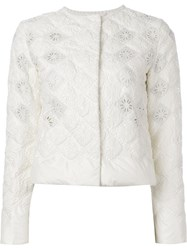 Ermanno Scervino Quilted Jacket White