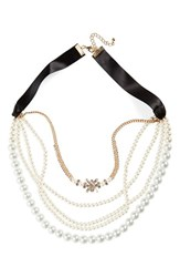 Cara Women's Multistrand Necklace