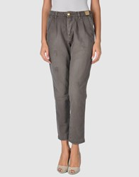 Monocrom Denim Denim Trousers Women Grey