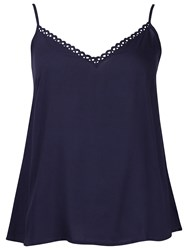 Cyberjammies Camisole Pyjama Top Navy