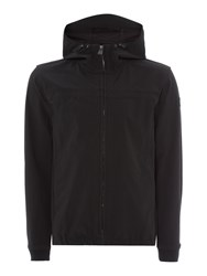 Duck And Cover Mission Lightweight Hooded Jacket Black