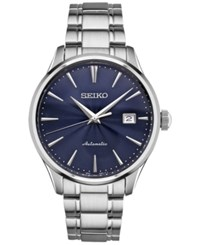 Seiko Men's Automatic Stainless Steel Bracelet Watch 42Mm Srpa29 Silver